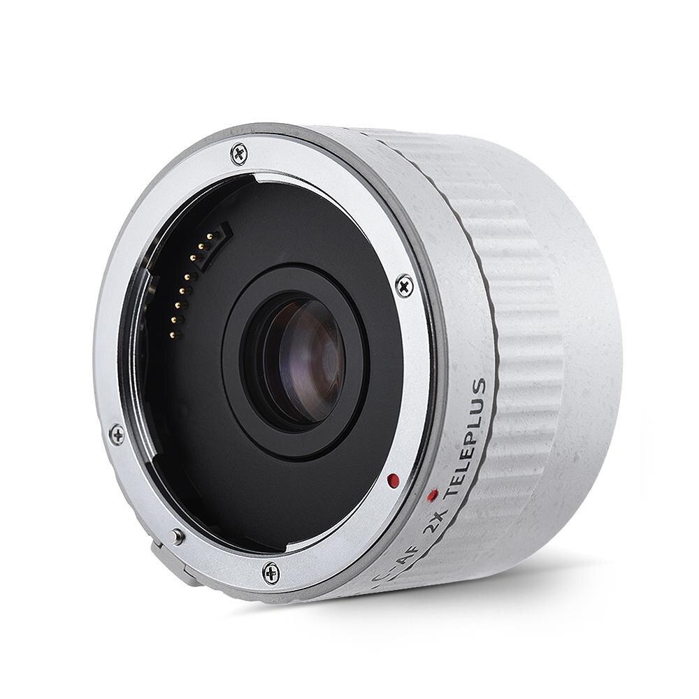 все цены на VILTROX C-AF 2X AF Auto Focus Teleconverter Lens Extender Magnification Camera Lenses for Canon EF Mount Lens DSLR Camera онлайн