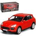 RMZ Ciudad GZ554014 Porsch Cayenne TURBO 1/32-36 Escala de 5 Pulgadas Vehículos Diecast Car Model Juguetes Mejor Regalo para Niños Blanco rojo