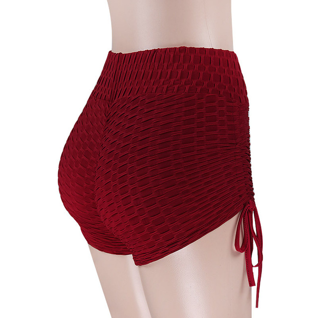 Women High Waist Solid Slim Fold 1