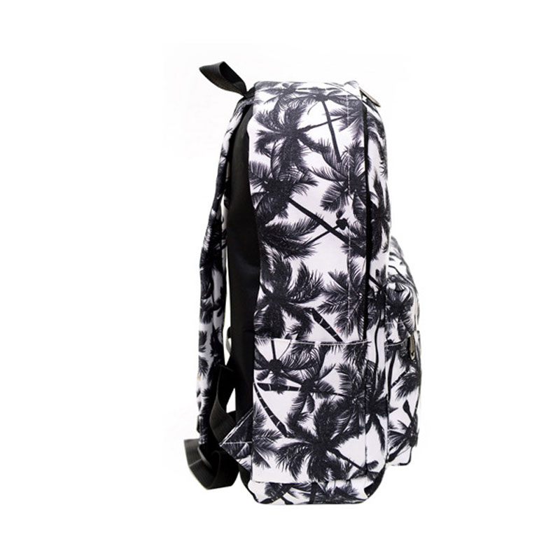 Hot Sales Mens Backpacks Women Shoulder Bag Canvas Printing Backpack Schoolbag Graffiti Unisex Rucksack Mochila Feminina B15331