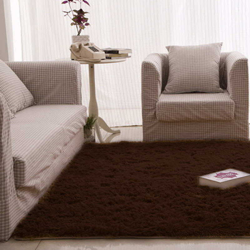 120 60cm Carpets For Living Room Gy Ivory Wool Rug Anti Skid Carpet Floor Bedroom Soft Mat Kids Hom In From Home Garden On