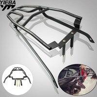 Black moto Motorbike Rear Carrier Fender Rack Tool Box Luggage Holder Bracket Saddlebag Support Fit For Yamaha NVX155 AEROX155