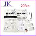 20 set/lote 4 em 1 Adaptadores de Cartão Eject Adaptador SIM Noosy Nano Micro Padrão pin para o iphone 7 5S 6 6 s lg s6 5c ipad samsung xiaomi