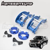4x4 Car Accessories 32mm Extended 2 inch G Shackles Lift Up Front Spacer and Rear Kits For New D max / Colorado 2012+