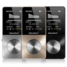 Original reproductor de mp3 4 GB S1813 Alta Calidad de nivel de Entrada de Sonido Reproductor de Música Sin Pérdidas con FM Juego Video EBook