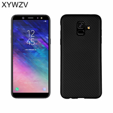 For Cover Samsung Galaxy A6 2018 Case Luxury Soft Phone Back Fundas
