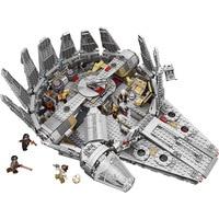 Factory Sale Price Model Building Blocks Bricks Star Wars Millennium Falcon Figure Compatible With Legoed Gift