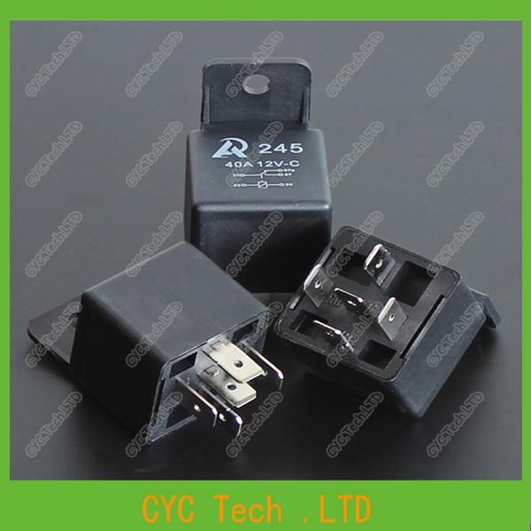 Aliexpresscom Buy 5 Pcs 12V 30A40A 5Pin Automotive Relay - Automotive Relay Normally Open