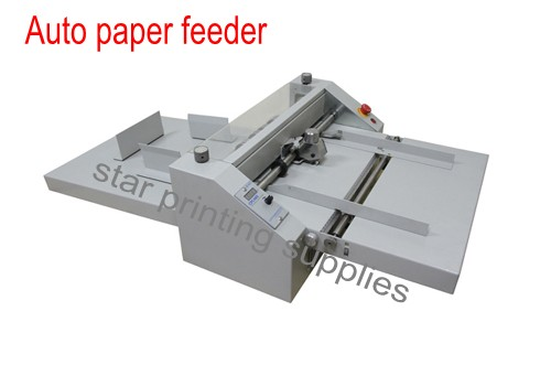 Automatic paper creasing machine Paper creaser with auto paper feeder 480mm