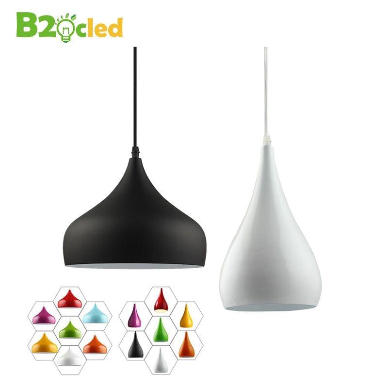 Moderne mode einfache led anhänger licht lampe aluminium hängen raum lampe für esszimmer Küche Restaurant Renovierung Lampenschirm