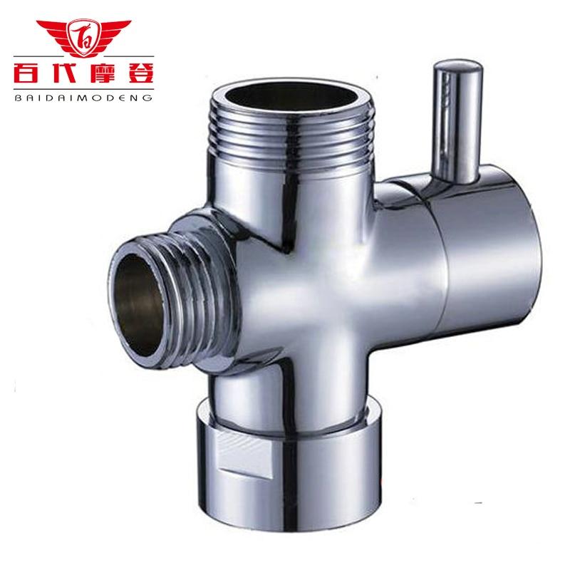 2015 Sale Refined Copper Sturdy Don't Rust Bathroom Faucet Accessories Manifold Shower Water Segregator Sub-valve Switch Valve