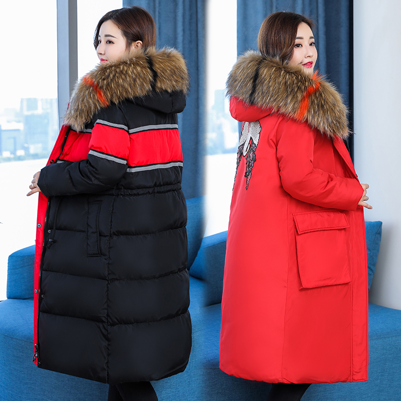 Fashion Maternity Coat With Fur Hooded Thicken Winter Coat For Pregnant Women Jacket Plus Pregnancy Overcoat Windbreaker fashion maternity coat with fur hooded thicken winter coat for pregnant women jacket m 2xl plus pregnancy overcoat windbreaker