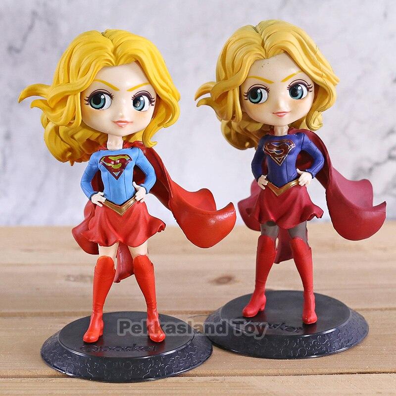 Q posket qposket DC Comic Series Supergirl PVC Figure Toy Gift No Box 14cm