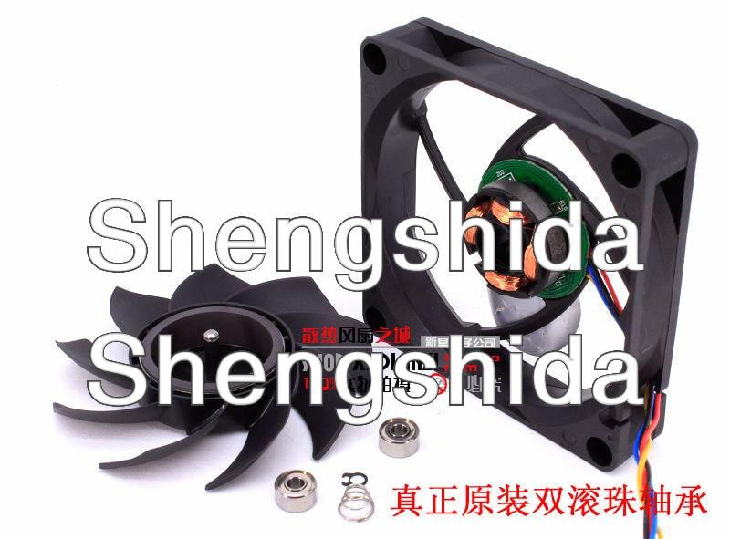 Для delta AFC0712DB 7 см 70 мм 7015 70*70*15 мм 12V 0.45A 4-контактный pwm CPU осевой вентилятор охлаждения