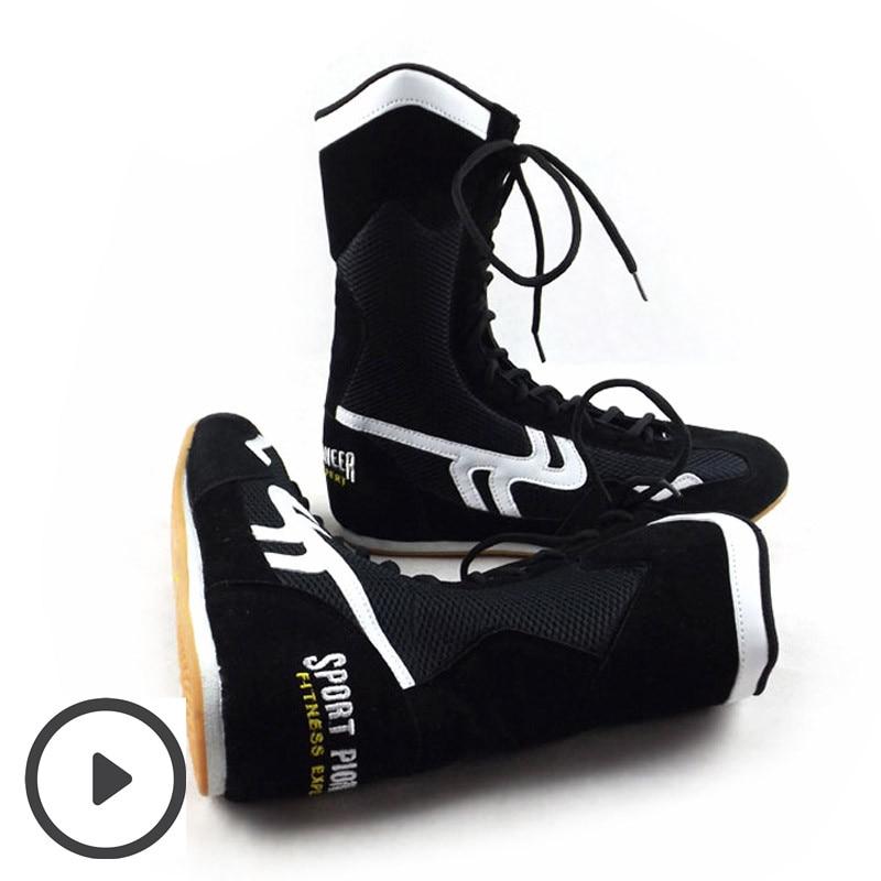Zapatillas de deporte del boxeo de los hombres de los deportes - Fitness y culturismo