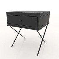 45x45x50 см сварочное железо прикроватный столик Nordic Винтаж шкаф мебель для спальни прикроватный столик простой современный спальня хранения