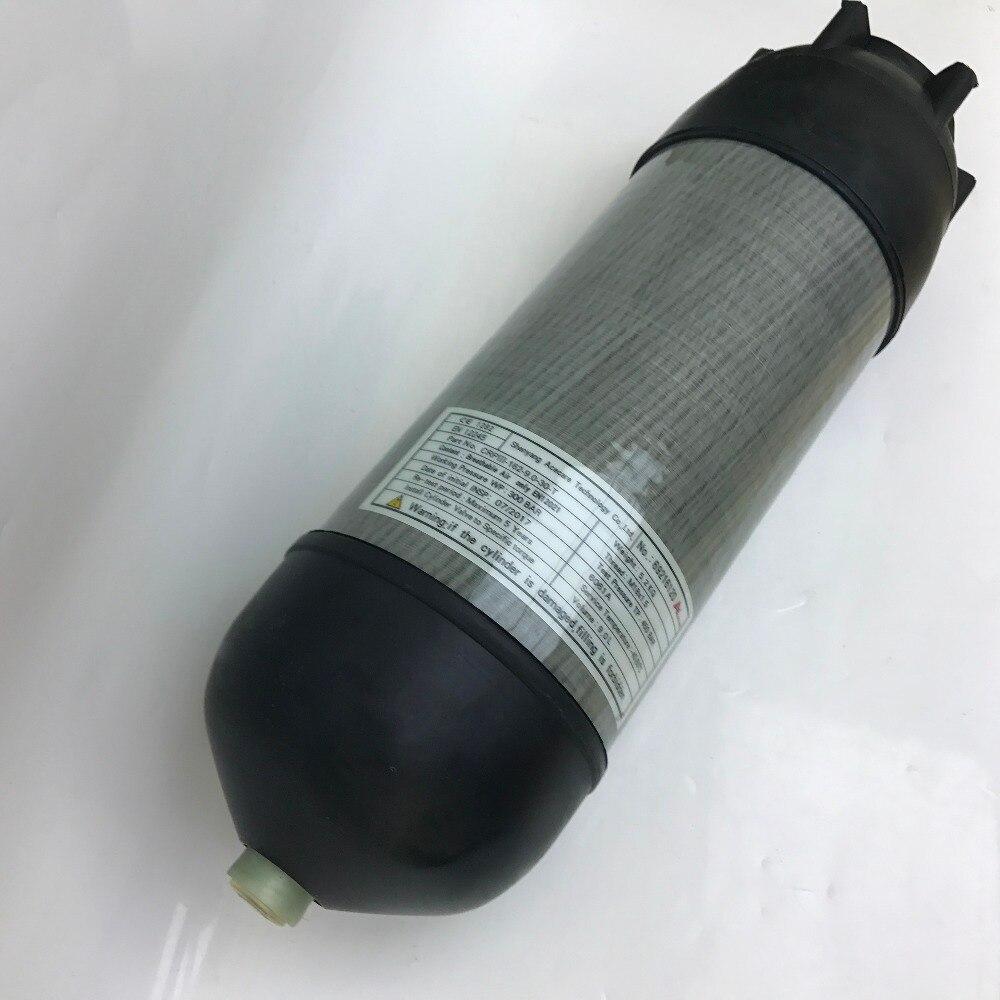 CE 4500psi 9l PCP Airsoft танк дыхание сжатого воздуха углеродное волокно Дайвинг цилиндр с крышкой сапоги
