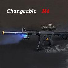 M4 Терминатор Игрушка Пистолет Электрический Воды Пуля Всплески Пистолетом На Открытом Воздухе Боевой Пейнтбол CS Прохладный Черный Игрушечный Пистолет Детей Игрушки
