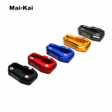 MAIKAI Motorcycle Kickstand Extension Plate Foot Side Stand Enlarge Pad For YAMAHA TMAX 530 T MAX T-MAX 2017 2018