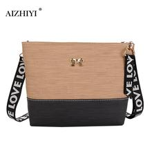 Fashion Female Package Elegant Women Handbag High Quality PU Ladies Small Shoulder Bag with Bowknot Rope Straps Messenger Bags