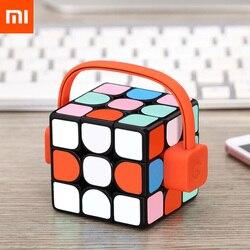 2018 Xiaomi Giiker супер Rubik S & #39 S Cube узнать с забавным Bluetooth соединение зондирования идентификации умственного развития игрушка