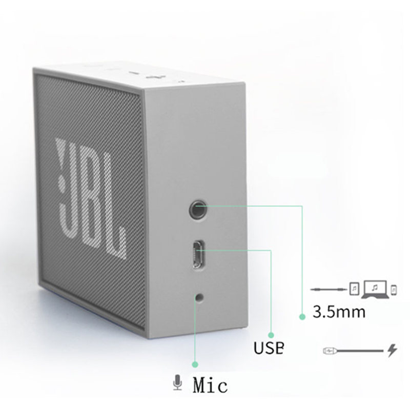 jbl speakers bluetooth white. jbl go music bric wireless bluetooth speaker outdoor portable mini speakers audio subwoofer-in from consumer electronics on jbl white