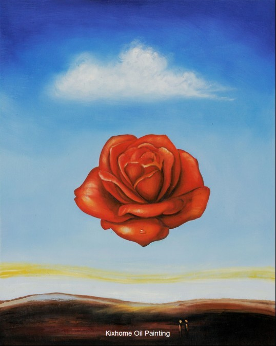 Dali The Meditative Rose By Salvador Dali Abstract Oil Paintings Replication Apply For Hotel Room Oil Art Oil Painting Wholesale Oil Painting City Painting Articleoil Cleanliness Aliexpress