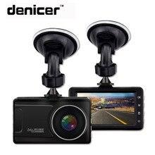Denicer регистраторы Full HD 1080 P Автомобильный видео Регистраторы регистратор Камера 170 градусов Широкий формат авто видеорегистратор с Ночное видение