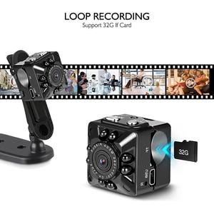 Image 3 - SQ10 Mini WiFi camera 1080P HD Remote playback video small micro cam Motion Detection Night Vision Home Monitor Infrared Night
