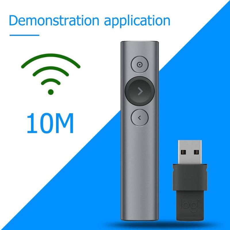 Logitech projecteur présentation à distance avancée numérique mise au point ardoise et Zoom sur l'écran large compatibilité-in Télécommandes from Electronique    3