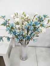 New Magnolia No. 1 Simulated Home Decoration, Flower Arrangement, Wedding Ceremony Road, Silk Introduction