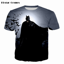 The Dark Knight T-shirt Fashion Men/boy t shirt Batman 3d print funny casual summer T-shirts tops plus size 4XL 5XL