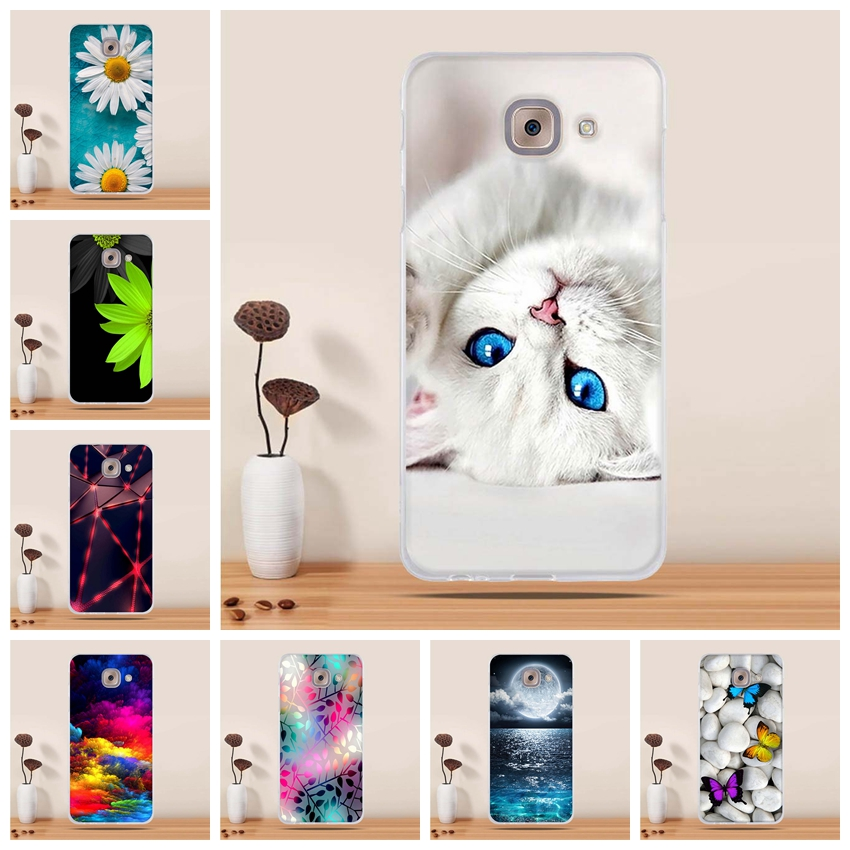 Phone Case for Samsung Galaxy J7 Max Case Silicone Covers for Samsung Galaxy J7 Max G615F Cover Cases for Samsung J7 Max Bags