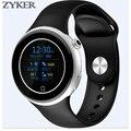 Zyker c5 smart watch relógio de pulso do esporte pedômetro smartwatch smartphones à prova d' água relógios relojes del reloj inteligente