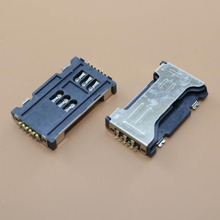 YuXi Best price for samsung S7562 S7562I I589 C6712 I8262D I739 SIM card socket reader tray holder slot connector,1pcs/lot.