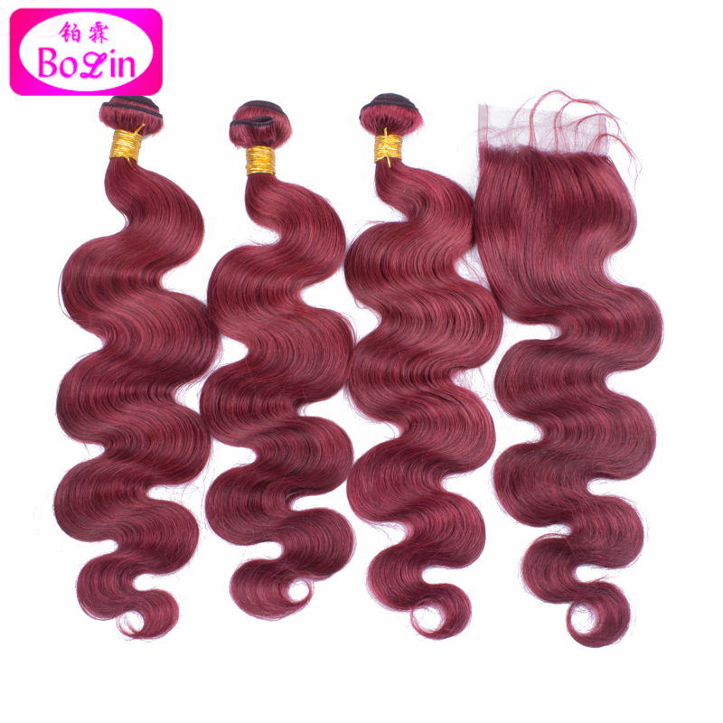 #99j body wave brazilian hair weave bundles with closure cheap brazilian hair bundles with closure for sale