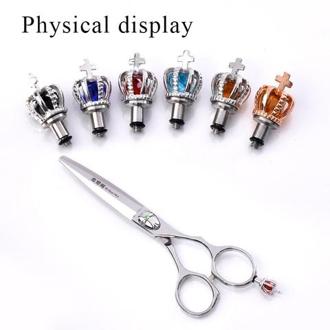 10 pecas lote removivel dedo resto tesoura tang cauda prego clavo de cola hairstyle ferramenta