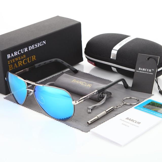 2019 New BARCUR Aluminum Magnesium Men's Sunglasse…