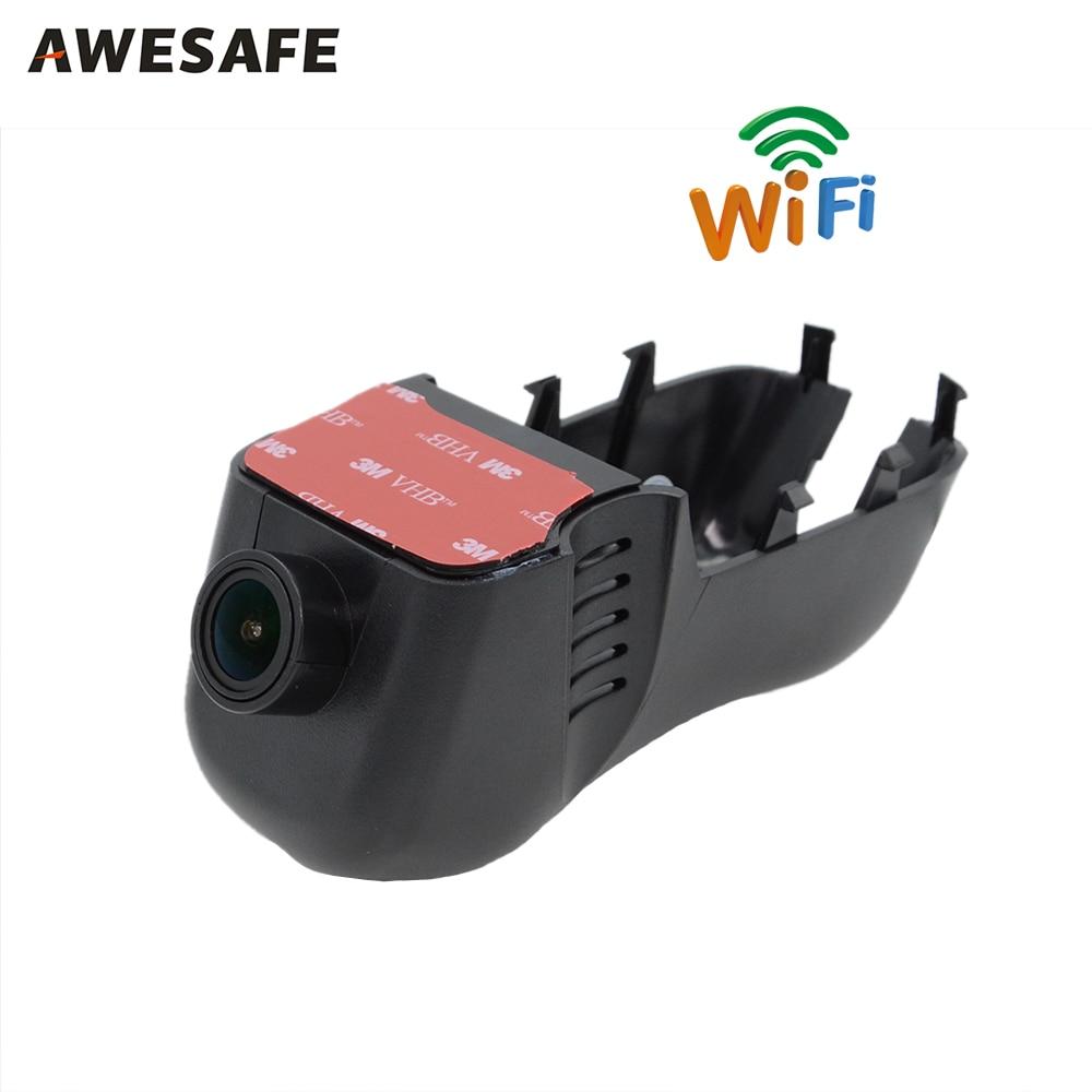 WiFi Car DVR Dash Cam Camera Digital Video Recorder Full HD 1080p Novatek 96655 IMX 322 for VW Touareg 2014-2015 Registrator junsun car dvr camera video recorder wifi app manipulation full hd 1080p novatek 96655 imx 322 dash cam registrator black box