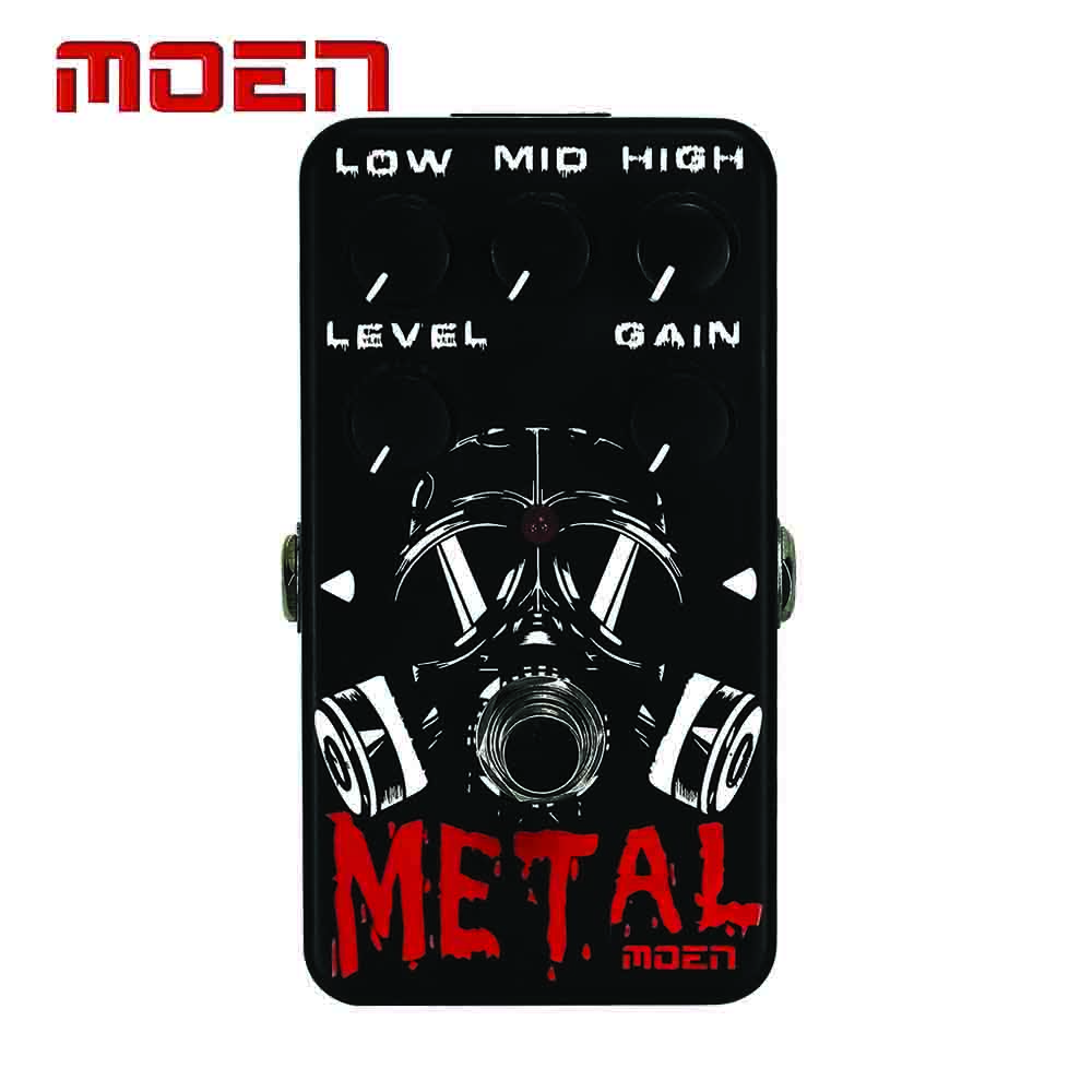 Moen AM-MT Pedal True Bypass Design Matel Electric Guitar Effect Pedal Guitarra Accessory dimensions of state building
