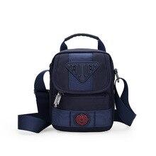 Mens nylon shoulder bag personality high quality waterproof designer