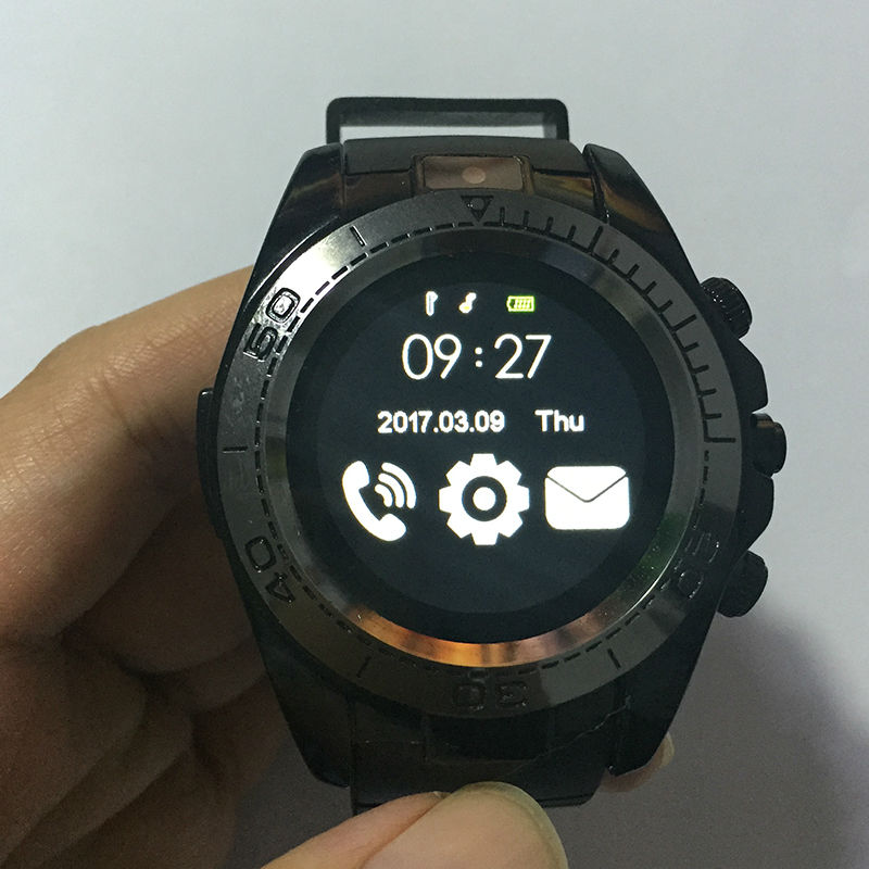 Sw007 Smart Watch On Wrist Bluetooth Wrist Watch For Android For Samsung Huawei Sony English Sim