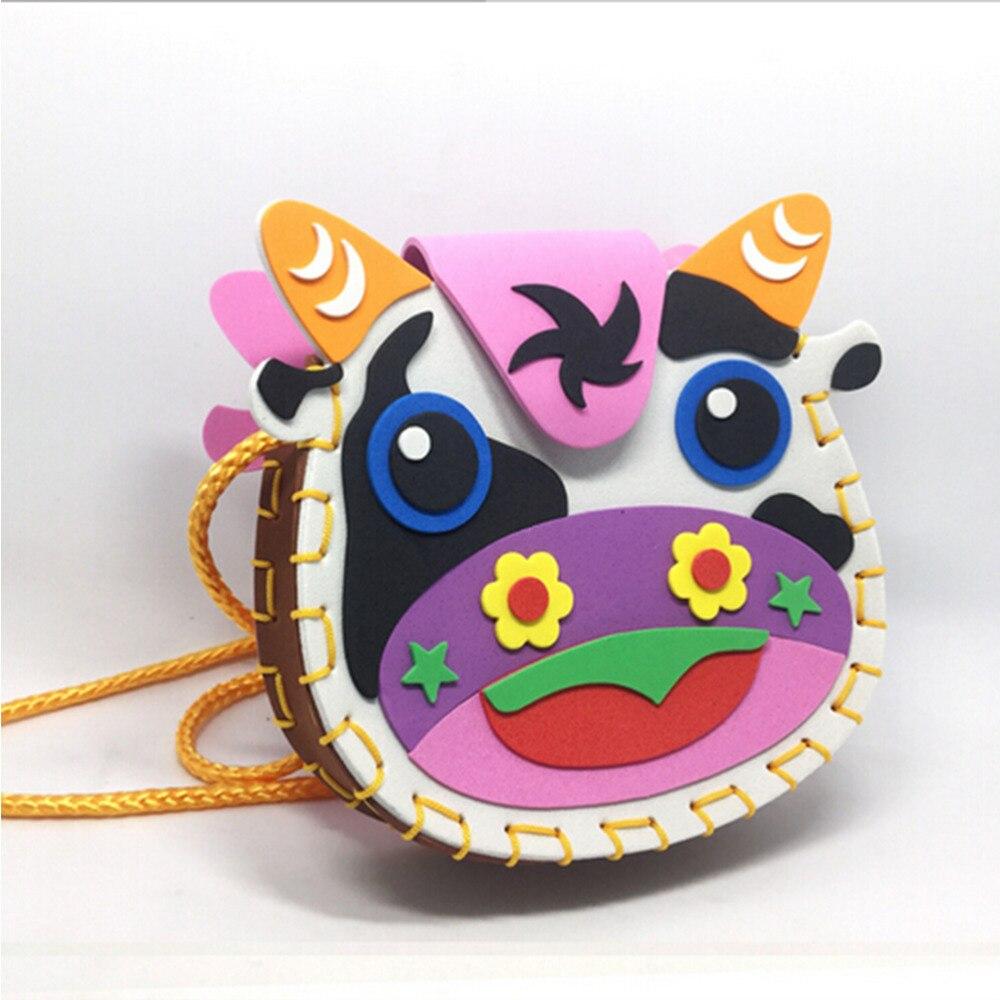 unidades interactivo juguetes educativos animales nios bolsos hechos a mano multicolor de espuma eva rompecabeza