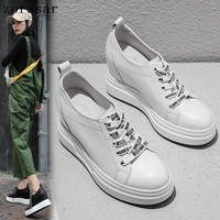 Fashion Sneakers For Women Trainers Platform Shoes White Sneakers Internal increase Wedge Ladies Casual Shoes Zapatillas Mujer