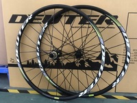 MTB bicycle wheelset 26 / 27.5 / 29 ER Disc Brake CNC rim Mountain cycling Bike wheel disc brake hubs compatible 11 speeds