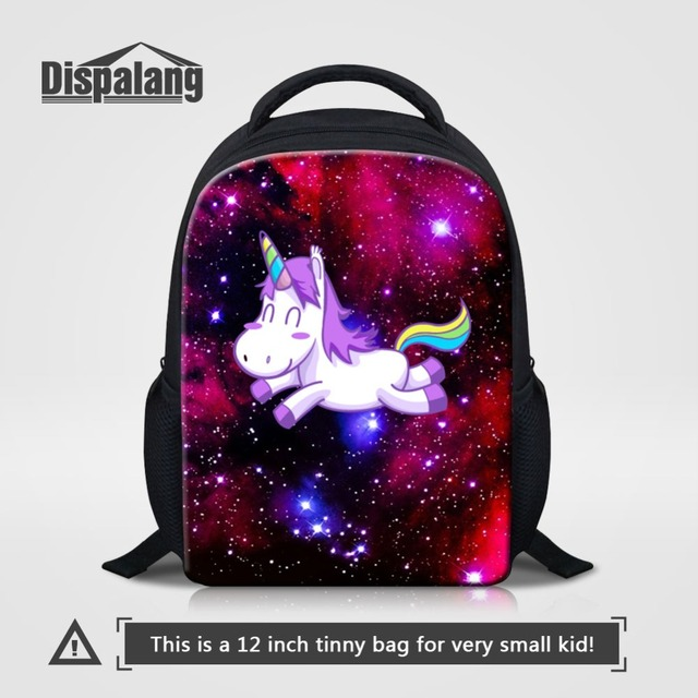 c04853f1976d 12 Inch Small Bagpack For Little Girl Boy Unicorn Cartoon Animal School Bag  Backpack Children Rucksack