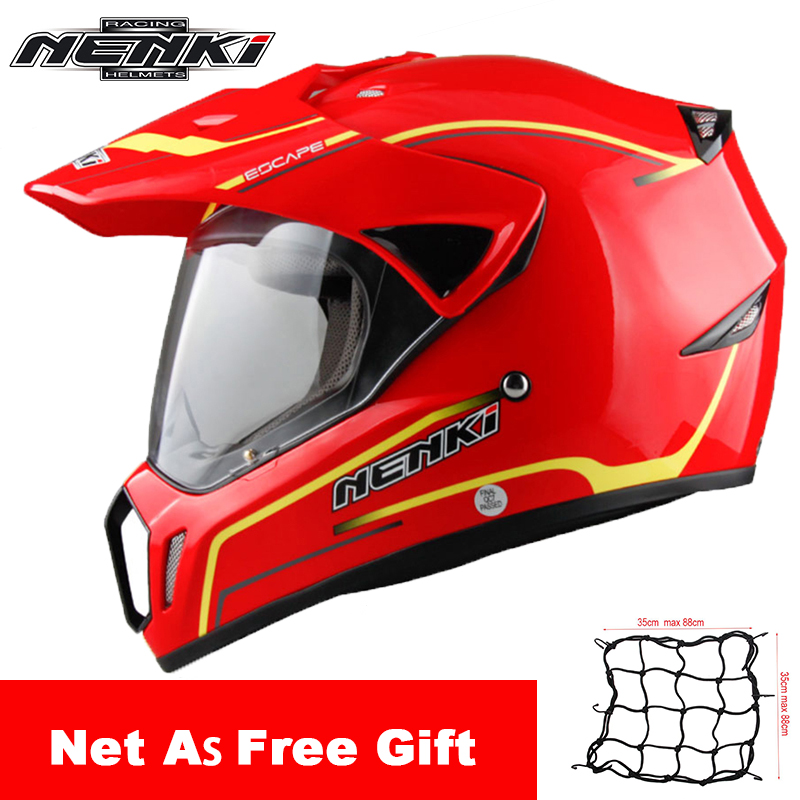 NENKI Motorcycle Helmet Moto Racing Helmet Cross Helmet Capacetes Full Face Motorcycle Adult Motocross Off Road Moto Helmet 310 nenki motorcycle helmets motocross racing helmet motorbike full face helmet capacete de moto for men and women 13 color