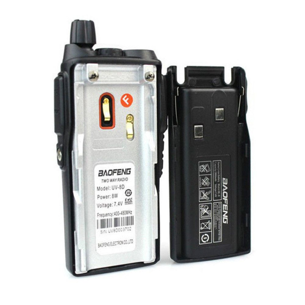 Image 4 - Baofeng General UV 8D Walkie talkie 8W High Power Dual Launch Key 5 15KM Communication Distance Multifunction Safety Intercom-in Walkie Talkie from Cellphones & Telecommunications