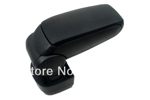 Center Console Armrest (Leatherette Black) For Mazda 2 2008-2012