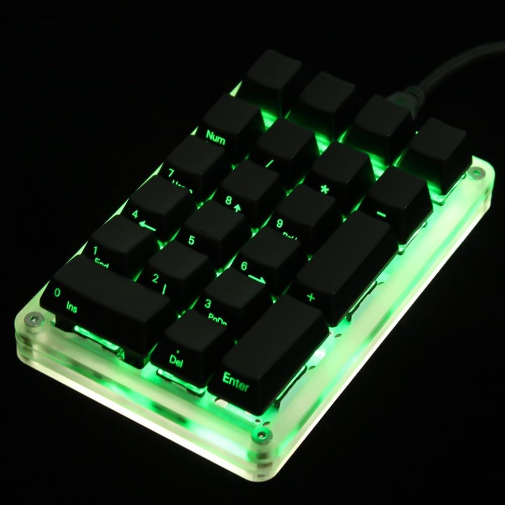 Image 5 - 21 23 24 Key YMDK Programmable Support Macro Function MX Cherry Switches Mechanical Keyboard Numpad For LOL Battlegroundskeyboard numpadmechanical keyboardgateron switch - AliExpress